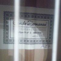 Conde Hermanos 2010 ラベル