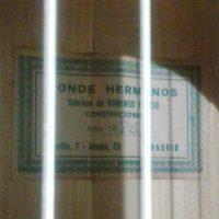 Conde Hermanos 1985 ラベル